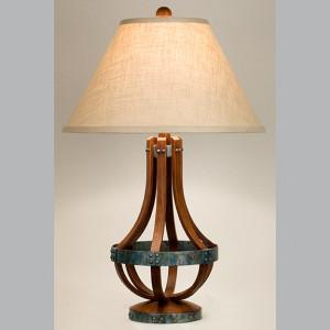 Wine Stave lamp