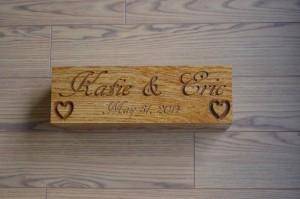 custom wood bricks