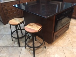 bar stools for wine room st louis mo