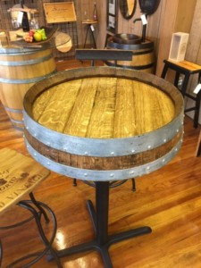 table-bar-height-barrel-end