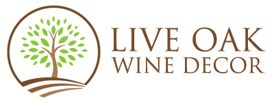 Live Oak Wine Decor Logo