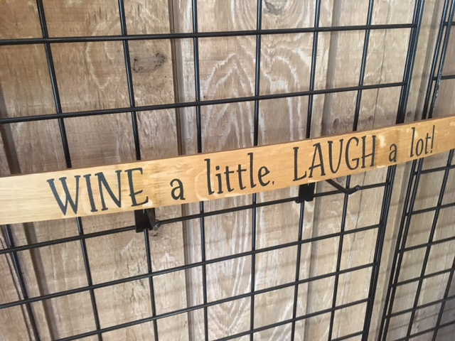 wine decorative sign