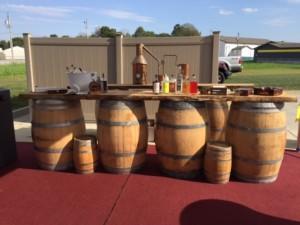 order wine barrels for event
